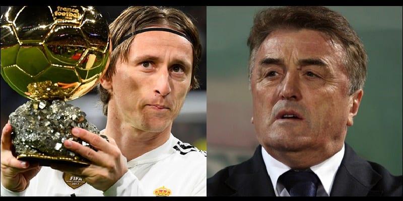 Photo de L'ex-entraîneur serbe remet en cause le ballon d'Or de Modric…Ses raisons