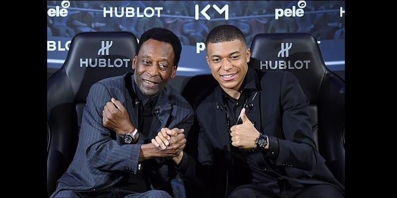 Photo de Kylian Mbappé et Pelé se rencontrent pour la première : Voici ce que pense le Brésilien du jeune prodige (photos)
