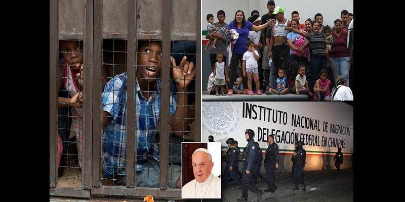 Photo de Le Pape fait un don de 500 000 dollars pour les migrants bloqués au Mexique