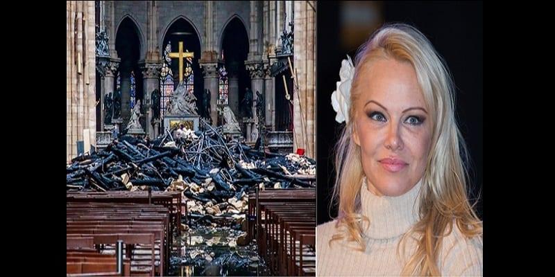 Photo de Notre-Dame de Paris : Pamela Anderson indignée par les dons récoltés, s'en prend aux donateurs