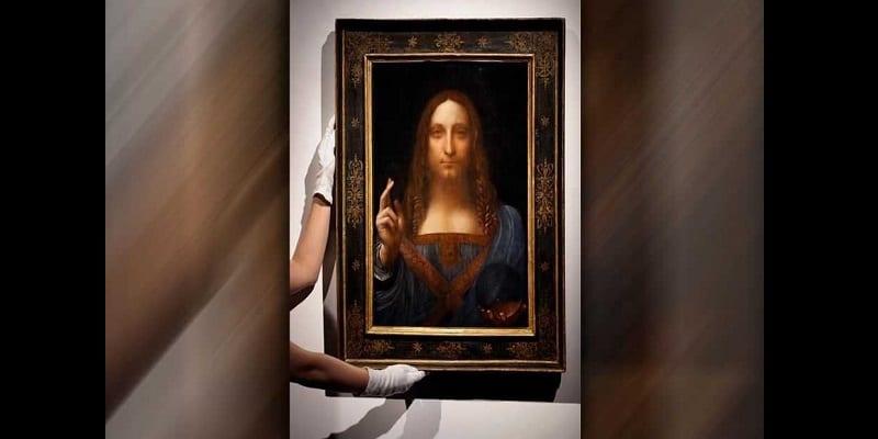 Photo de Un tableau de Leonard de Vinci d'une valeur de 450 millions de dollars est porté disparu