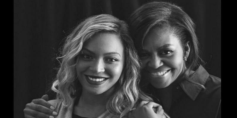 Photo de Le bel hommage de Beyonce à Michelle Obama