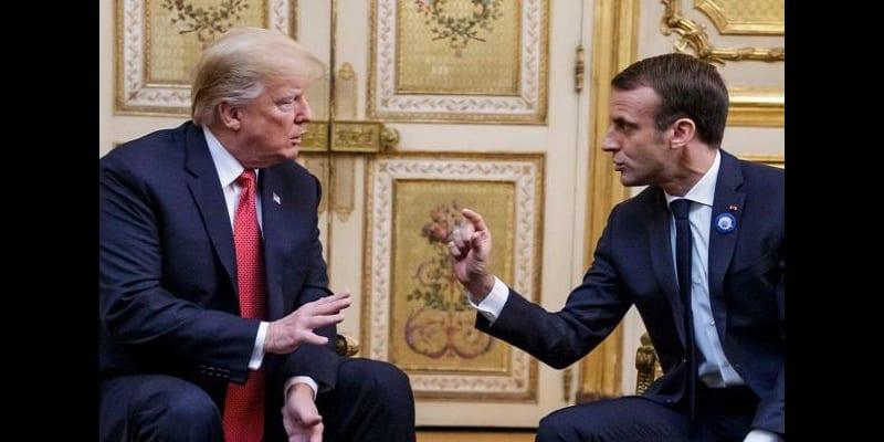 Photo de USA-France: Emmanuel Macron tient tête à Donald Trump