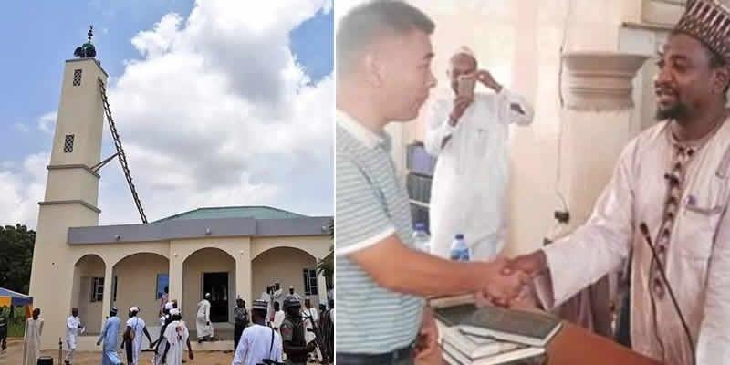 Photo de Nigeria: Un chinois se convertit à l'islam et prend un nouveau nom musulman