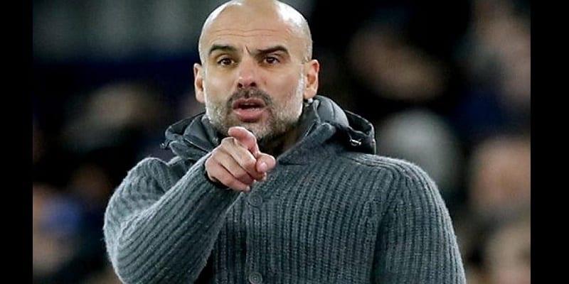 Photo de LDC: La réaction de Guardiola sur le but refusé à Sterling aux arrêts de jeu