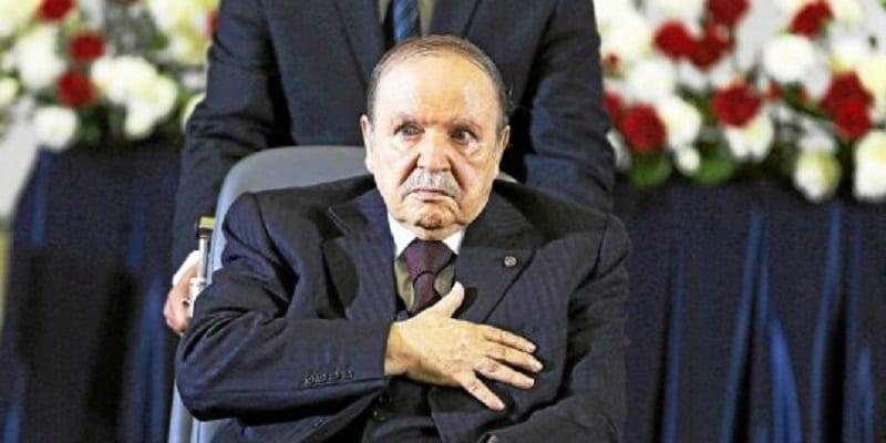 Photo de Algérie: Abdelaziz Boutéflika a rendu sa démission