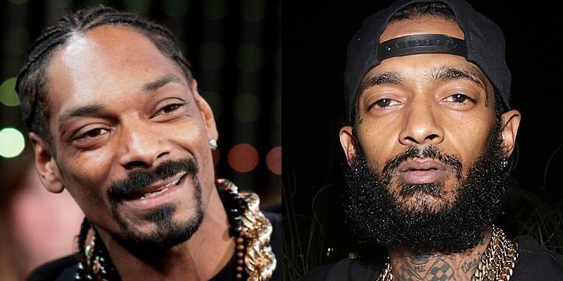 Photo de Nipsey Hussle: Le dernier hommage que lui a rendu Snoop Dogg (photo)