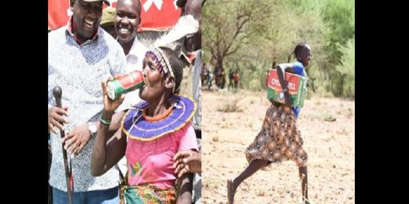 Photo de Kenya: Une compagnie chinoise fait don de bières aux victimes de sécheresse…La toile s'indigne (photos)