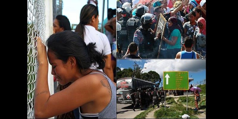 Photo de Brésil: Plus de 40 détenus étranglés à mort dans des prisons (photos)