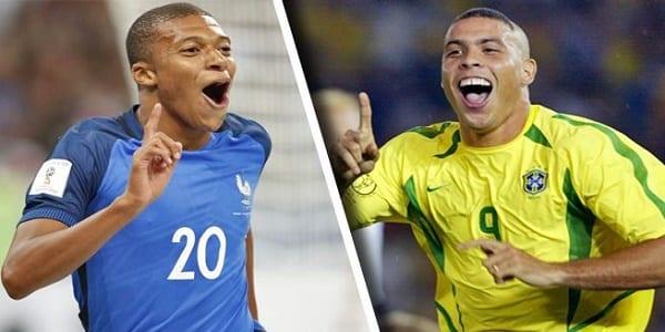Photo de PSG: Kylian Mbappé comparé à Ronaldo, la réaction du Brésilien