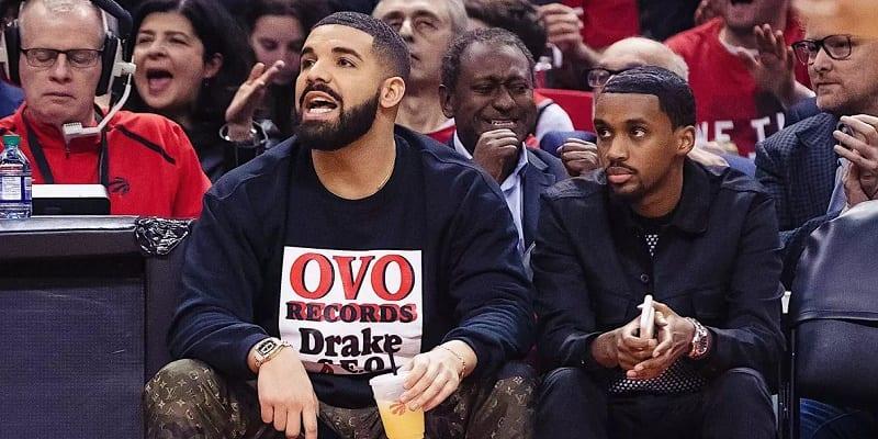 Photo de Drake: Le rappeur s'affole après la victoire des Toronto Raptors (Vidéos)