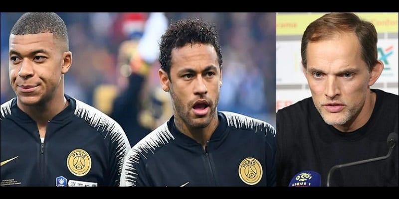 Photo de PSG: La position de Thomas Tuchel sur l'avenir de Neymar et Mbappé