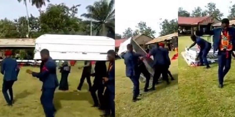 Photo de Ghana: Des porteurs de cercueil font tomber le cadavre en dansant (VIDÉO)