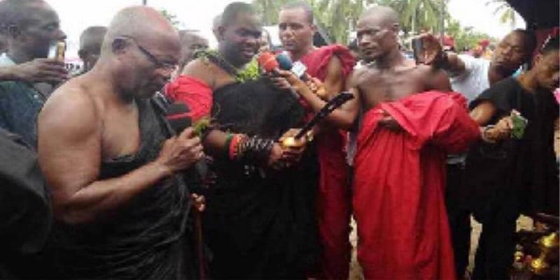 """Photo de Ghana: Un chef demande aux """"sorciers"""" d'utiliser leurs """"pouvoirs"""" pour développer la communauté"""