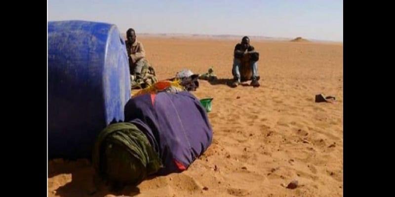 Photo de Trois migrants meurent de soif dans le désert du Niger