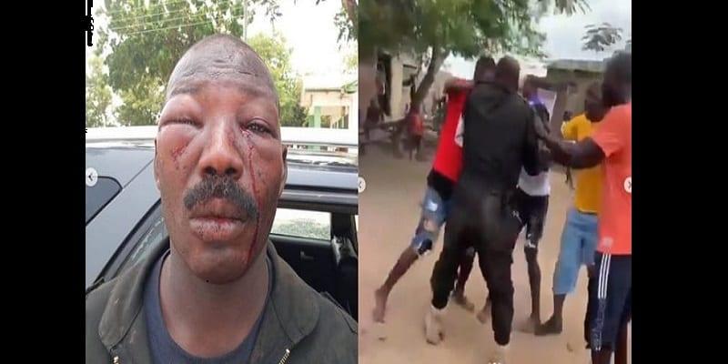 Photo de Ghana : Un policier brutalement agressé par des résidents en colère (vidéo)
