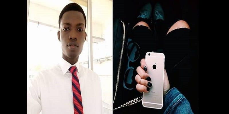 Photo de Nigeria : Menacé par sa petite amie, il utilise le prix du loyer pour lui acheter un iPhone