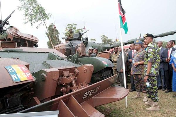 Photo de Kenya: Le gouvernement prévoit 237 millions de dollars pour l'achat des armes