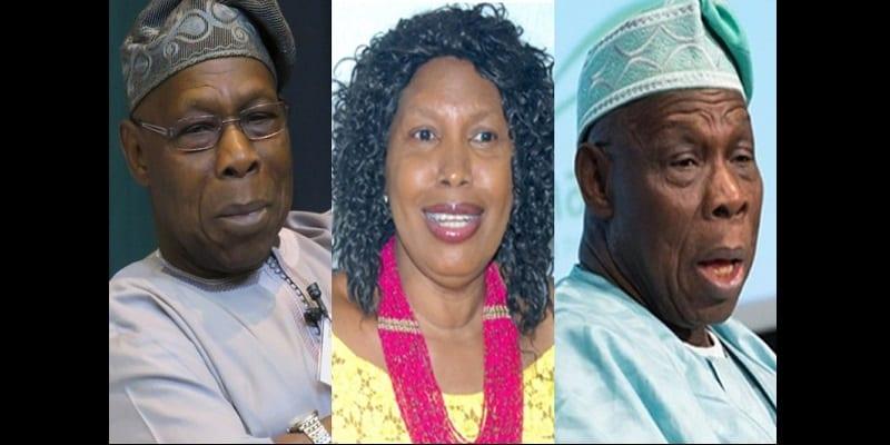 Photo de «Obasanjo a payé des assassins pour me tuer », l'épouse de l'ancien président nigérian fait des révélations graves