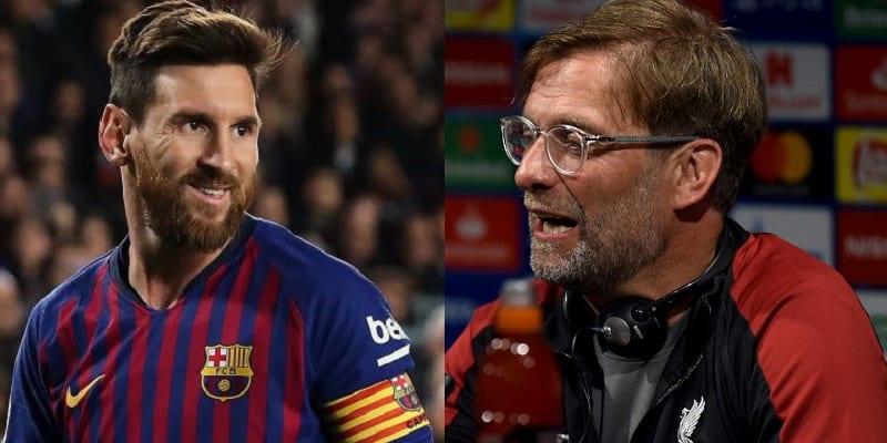 Photo de Ligue des Champions: Jürgen Klopp se sent menacé par le projet de Messi
