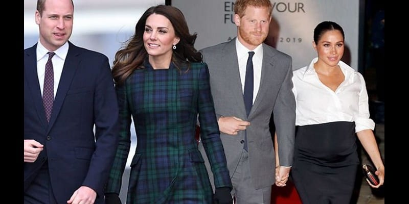 Photo de Meghan Markle et Harry ont rompu avec Kate et William