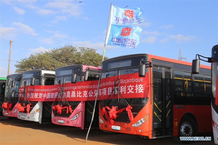 Photo de La Chine fait don de 100 nouveaux bus au Mozambique