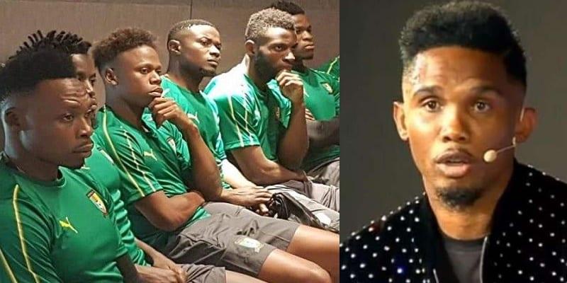 Photo de CAN 2019: L'équipe Camerounaise en grève, Eto'o joue au médiateur