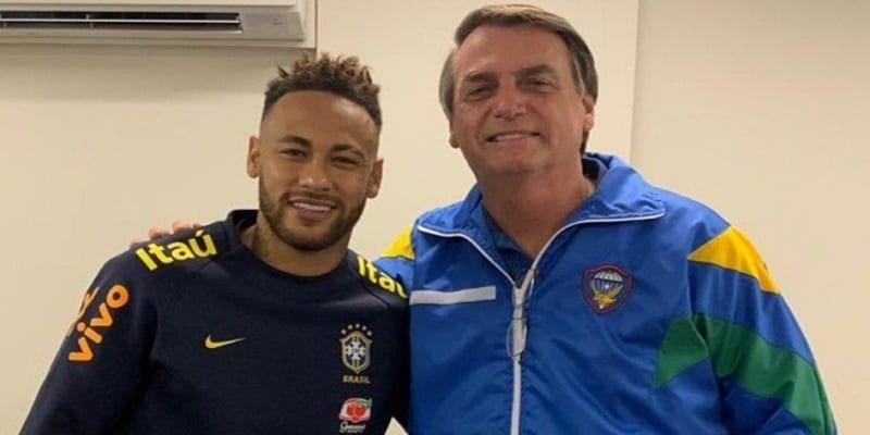 Photo de Neymar: Accusé de viol, le président brésilien réagit à son tour