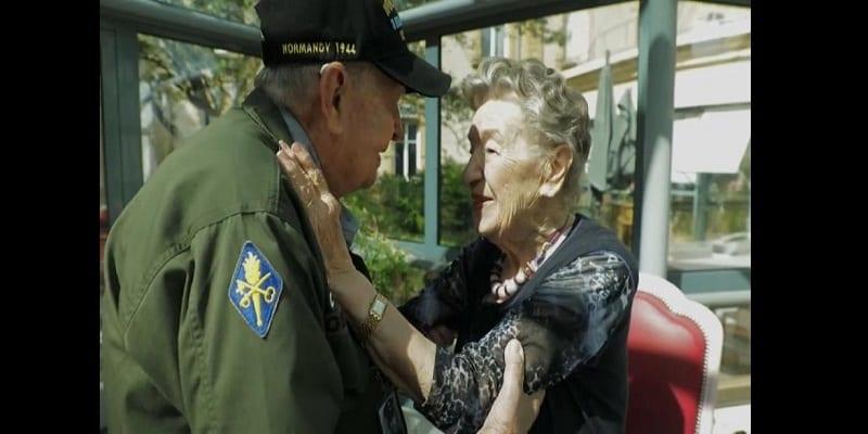 Photo de France : Un ancien soldat américain retrouve son amoureuse 75 ans après la guerre (vidéo)