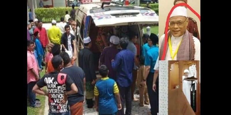 Photo de Malaisie : Un Imam s'évanouit et décède en prononçant le sermon du vendredi (vidéo)