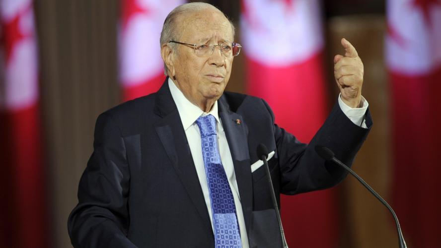 Photo de Tunisie : Décès du président Béji Caid Essebsi