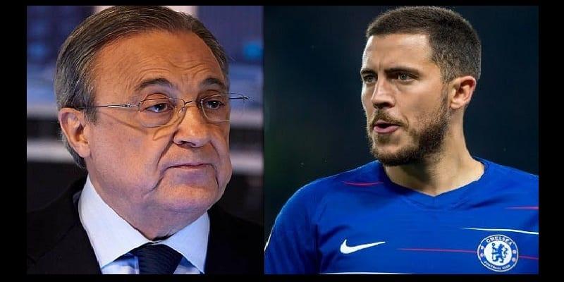 Photo de Réal Madrid: La déclaration de Florentino Perez sur l'arrivée d'Eden Hazard