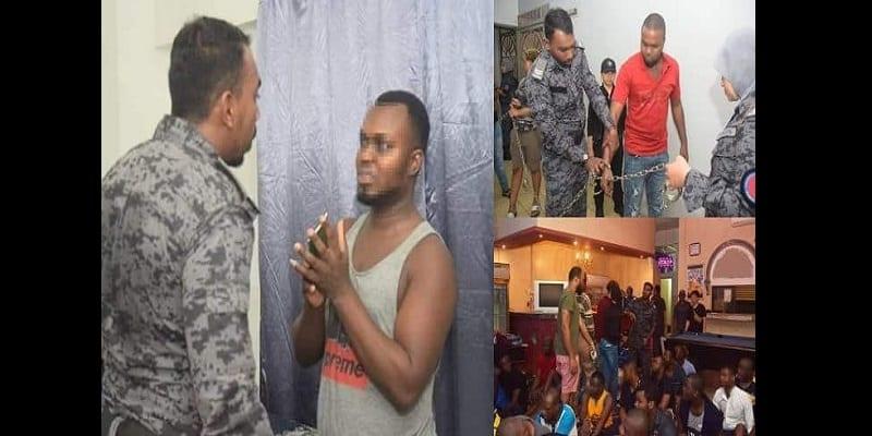 Photo de Malaisie : plus de 80 Nigérians arrêtés pour fraude et pratiques occultes (photos)