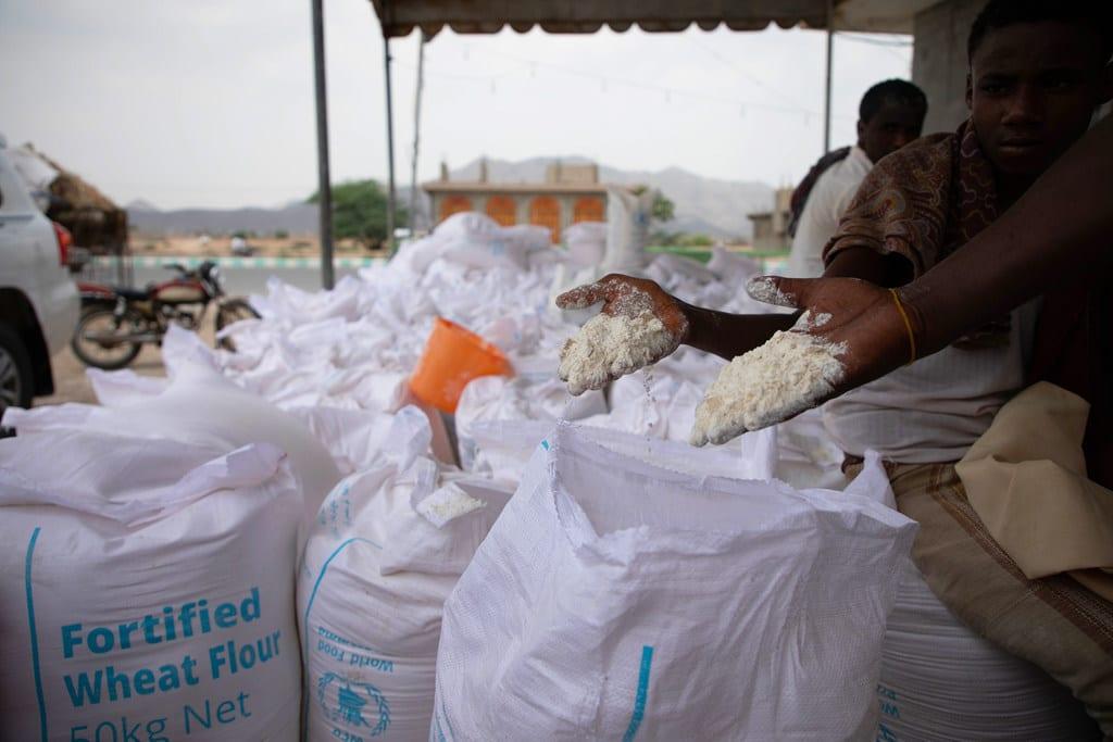 Photo de Suspension partielle de l'aide alimentaire au Yémen