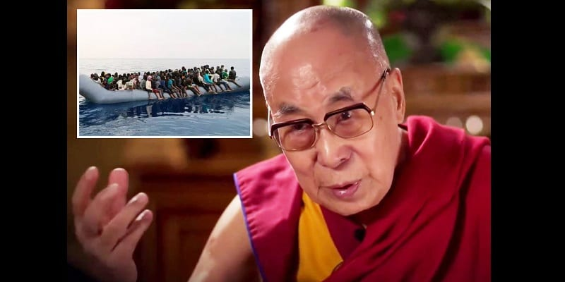 Photo de Le Dalaï Lama demande à l'Europe de renvoyer les migrants dans leur pays d'origine