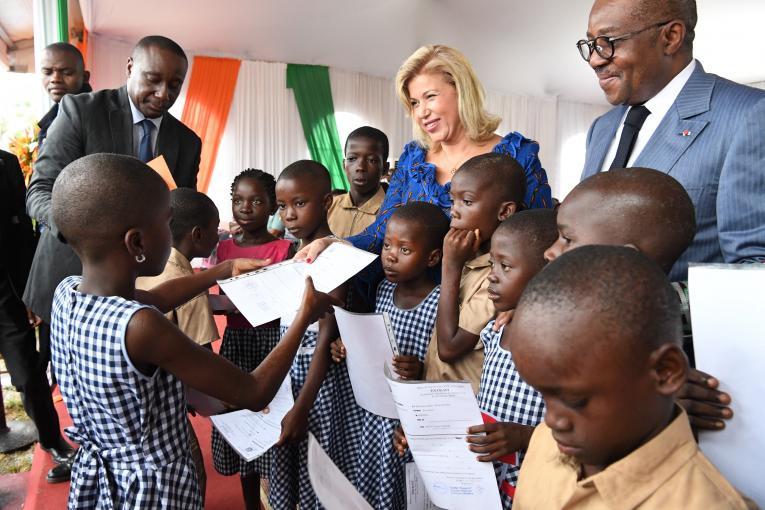 """Photo de Côte d'Ivoire: """"Un enfant qui n'a pas d'extrait de naissance n'a pas de nationalité"""" (Unicef)"""