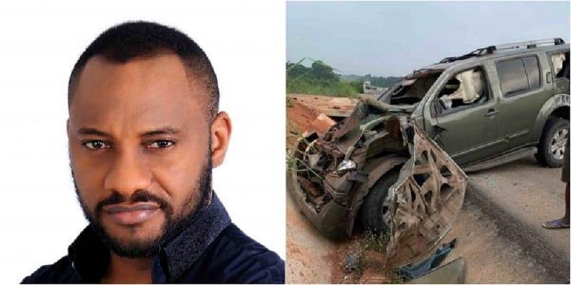 Photo de Nollywood : Yul Edochie victime d'un accident de la route