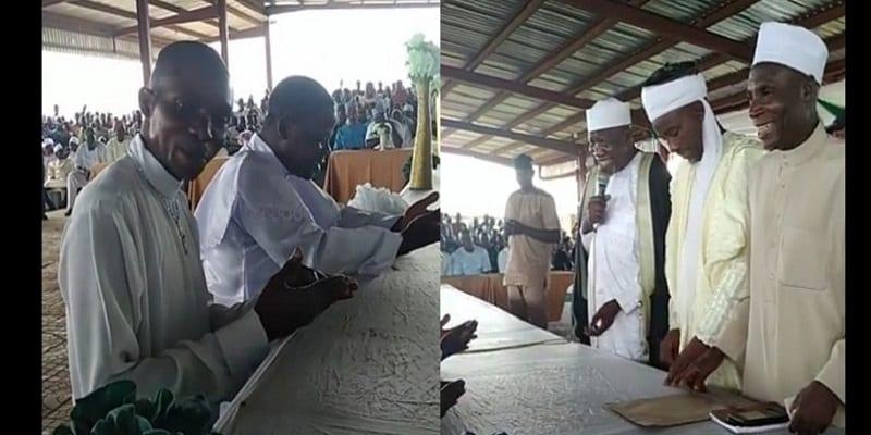 Photo de Nigeria: Deux pasteurs se convertissent à l'islam pendant un sermon du Ramadan