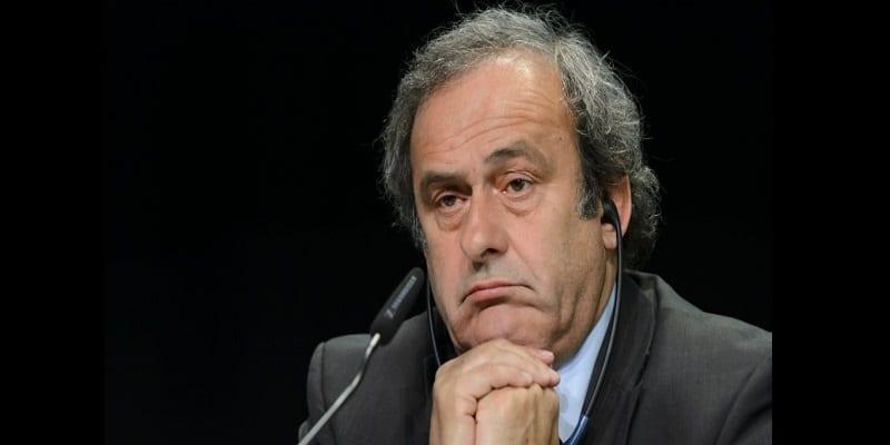 Photo de Michel Platini : L'ancien président de l'Uefa arrêté en France