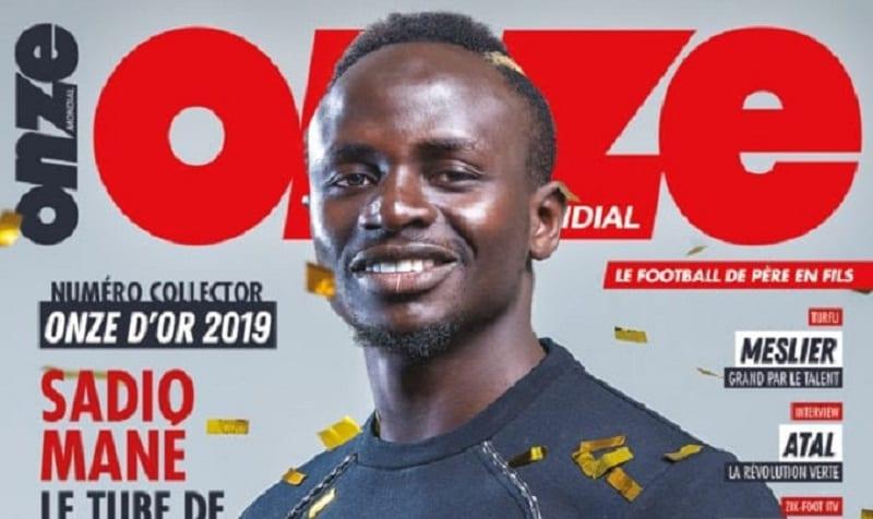 Photo de Sport: 15 ans après Didier Drogba, Sadio Mané remporte le Onze d'Or