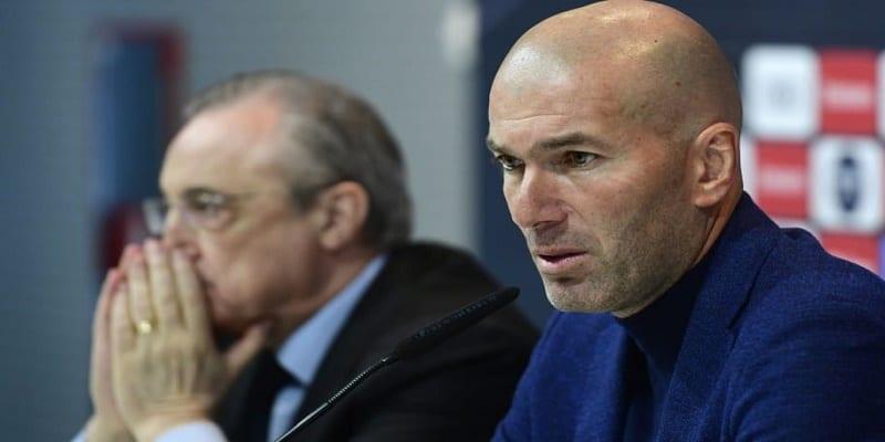 Photo de Réal Madrid: Vers un désaccord entre Zidane et Florentino Perez ?