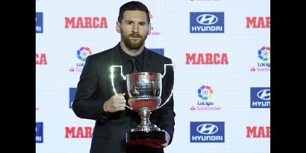 Photo de Messi désigné meilleur joueur de l'histoire de la liga: découvrez ses statistiques incroyables!