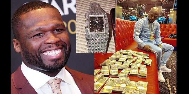 Photo de People: 50 Cent clashe Floyd Mayweather, la toile s'enflamme