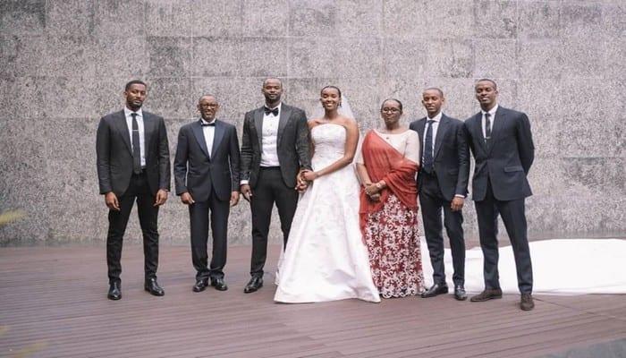 Photo de Rwanda: découvrez en images le mariage de Ange Kagamé, la fille du Président