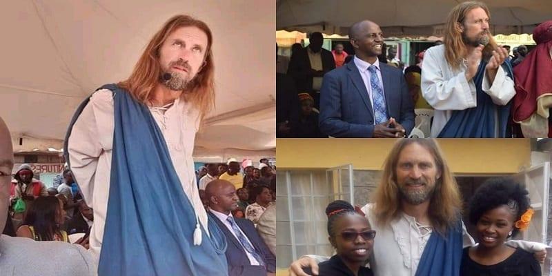 """Photo de Des pasteurs d'Afrique du Sud et du Kenya invitent """"Jésus"""" dans leur église (VIDEO)"""