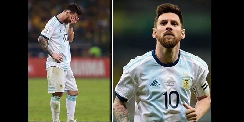 Photo de Copa America : Lionel Messi se prononce sur son avenir après leur défaite face au Brésil
