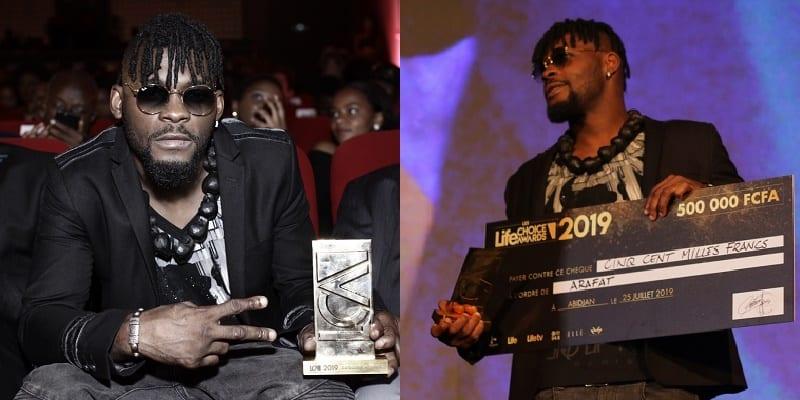 Photo de Life Choice Awards : Arafat remporte la palme d'Or dans la catégorie musique