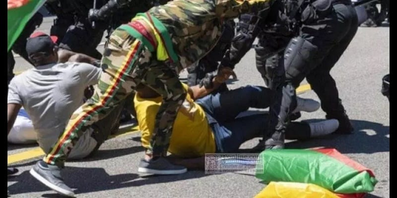 Photo de Suisse: Les gardes du corps de Paul Biya arrêtés et condamnés à Genève