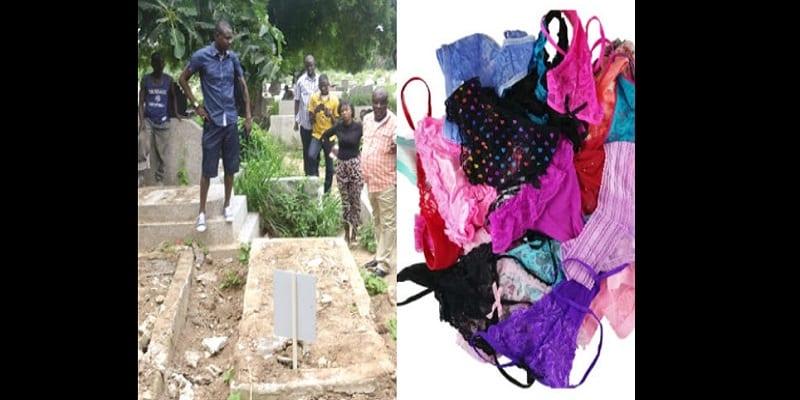 """Photo de Zimbabwe: des dessous de femmes découverts dans un cimetière pour un """"rituel d'argent"""""""