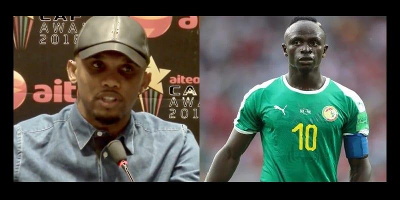 Photo de CAN 2019: Le coup de Gueule d'Eto'o sur Sadio Mané (Vidéo)